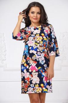 Платье с мишками Liora со скидкой